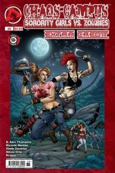 Approbation Comics's Chaos Campus: Sorority Girls vs Zombies - Extra Credit Issue # 8