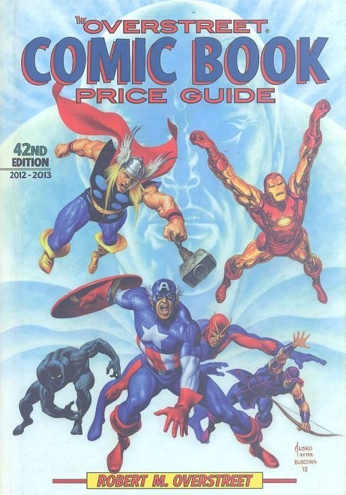 overstreet comic book price guide hard cover 42 gemstone publishing rh comicbookrealm com overstreet comic book price guide 2017 overstreet comic book price guide 46