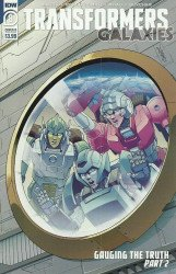 IDW Publishing's Transformers: Galaxies Issue # 8b