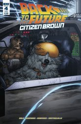 IDW Publishing's Back to the Future: Citizen Brown Issue # 4sub