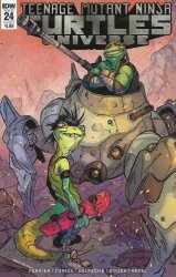 IDW Publishing's Teenage Mutant Ninja Turtles Universe Issue # 24b