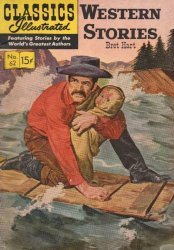 Gilberton Publications's Classics Illustrated #62: Western Stories Issue # 5