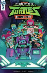 IDW Publishing's Rise Of The Teenage Mutant Ninja Turtles: Sound Off Issue # 2ri