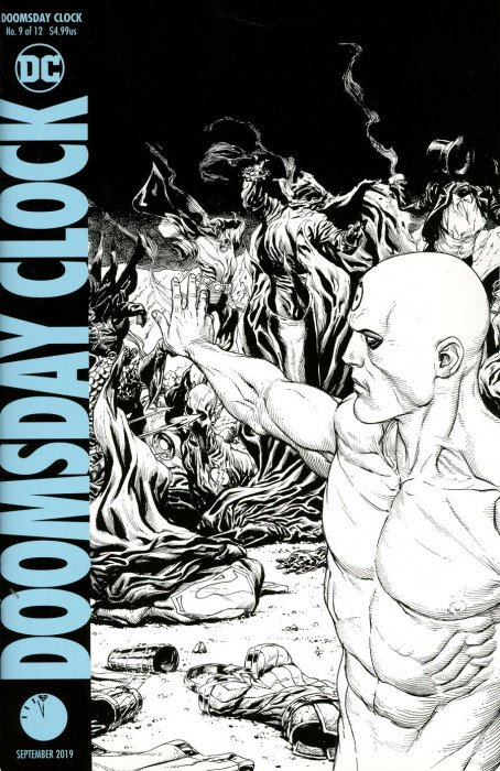 Doomsday Clock Issue 9 2nd Print Dc Comics