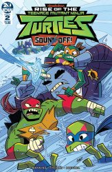 IDW Publishing's Rise Of The Teenage Mutant Ninja Turtles: Sound Off Issue # 2