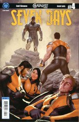 Lion Forge Comics's Catalyst Prime: Seven Days Issue # 4