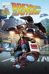 IDW Publishing's Back to the Future Issue # 1jj