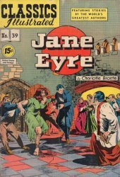 Gilberton Publications's Classics Illustrated #39: Jane Eyre Issue # 1f