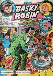3-D Cosmic Publications's Fun with Basky and Robin Issue # 14