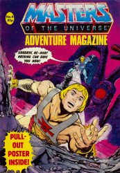 London Editions Magazines's Masters of the Universe Adventure Issue # 6