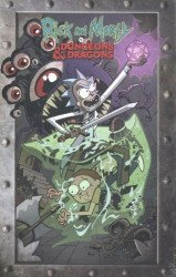 IDW Publishing's Rick and Morty vs Dungeons & Dragons Special # 1-4 box set