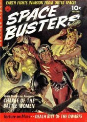 Ziff-Davis Publishing's Space Busters Issue # 1