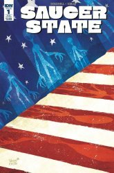 IDW Publishing's Saucer State Issue # 1sub
