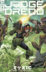 IDW Publishing's Judge Dredd: Toxic Issue # 4