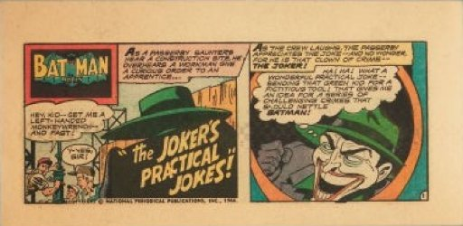 DC Comics's Batman: The Joker's Practical Jokes! Issue nn