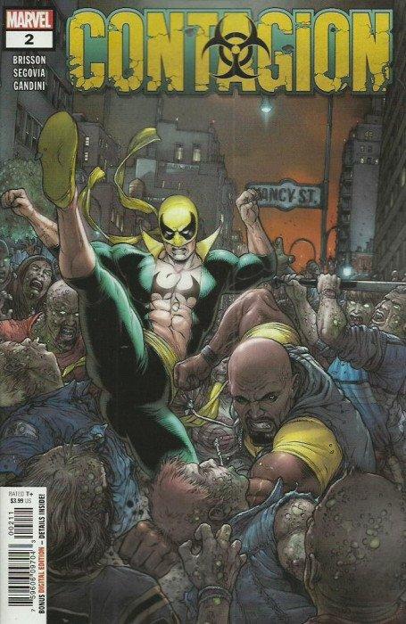 Contagion #2 Marvel VF//NM Comics Book