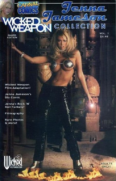 Jenna Jameson Cover To Cover