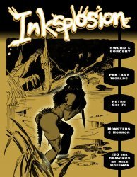 Self-Published's Mike Hoffman's Inksplosion Issue # 1