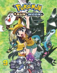 Viz Media's Pokemon: Sun & Moon Soft Cover # 9
