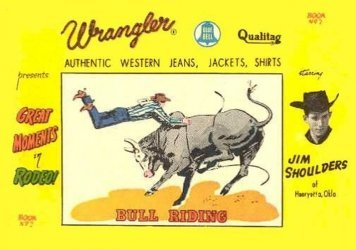 American Comics Group's Wrangler: Great Moments in Rodeo Issue # 2