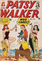 Bell Features's Patsy Walker Issue # 34