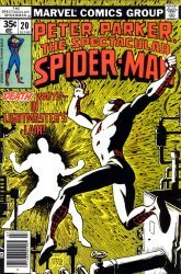 Marvel Comics's The Spectacular Spider-Man Issue # 20