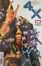 Marvel Comics's X-Men + Fantastic Four (4X) Issue # 2c