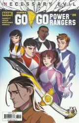 BOOM! Studios's Saban's Go Go Power Rangers Issue # 26