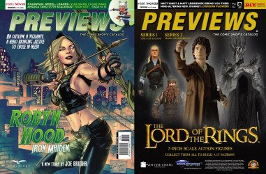 Diamond Comics Distribution's Previews Issue # 386