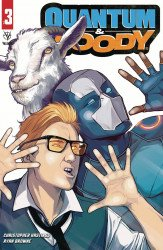 Valiant Entertainment's Quantum & Woody Issue # 3b