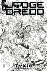 IDW Publishing's Judge Dredd: Toxic Issue # 4ri