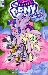 IDW Publishing's My Little Pony: Friendship is Magic Issue # 58ri