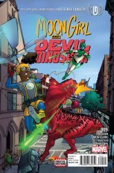 Marvel's Moon Girl and Devil Dinosaur Issue # 9