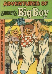 Paragon Products's Adventures of Shoney's Big Boy Issue # 70