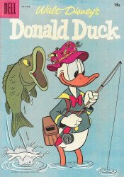 Dell Publishing Co.'s Donald Duck Issue # 54b