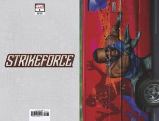 Marvel Comics's Strikeforce Issue # 1c