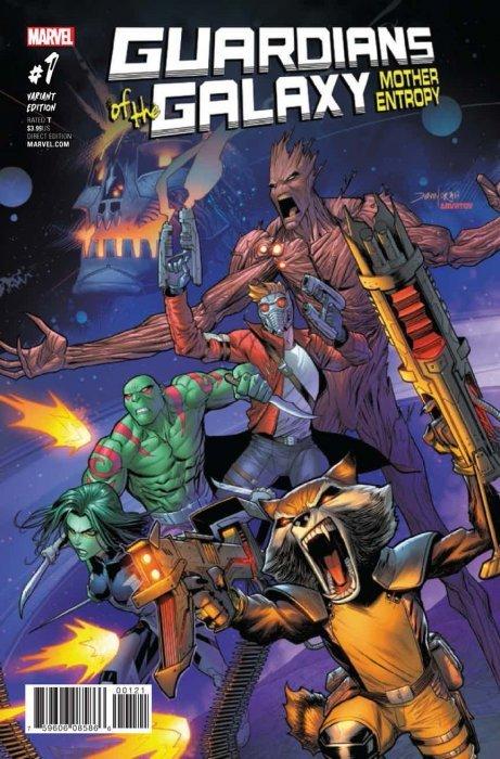 marvel comics guardians of the galaxy