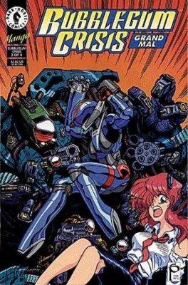 NEW UNREAD Dark Horse Comics 1994 Bubblegum Crisis Grand Mal Comic Book #1
