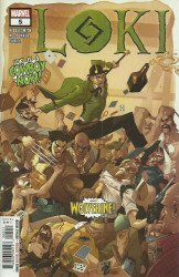 Marvel Comics's Loki Issue # 5