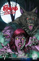 Space Goat Productions 's The Howling: Revenge of the Werewolf Queen Issue # 1e