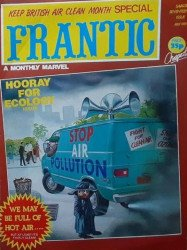 Marvel UK's Frantic Issue # 17