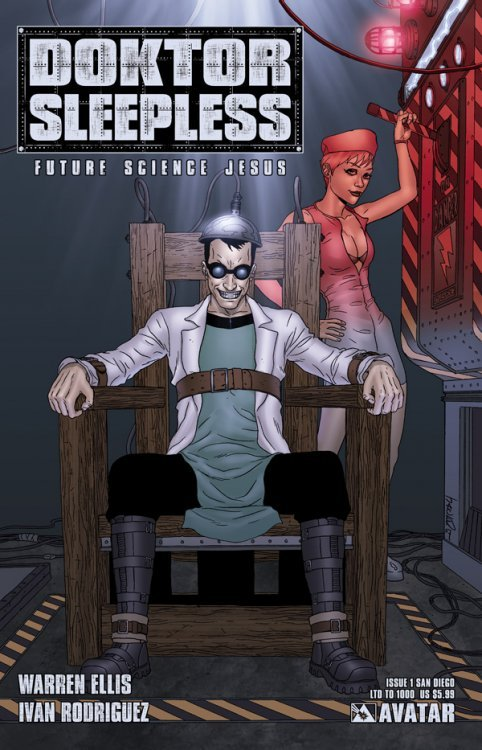 Avatar Presss Doktor Sleepless Issue 1e