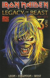 Heavy Metal's Iron Maiden: Legacy Of The Beast - Night City Issue # 3b