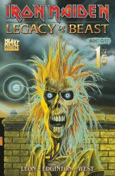 Heavy Metal's Iron Maiden: Legacy Of The Beast - Night City Issue # 1sdcc