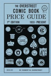 Gemstone Publishing's Overstreet Comic Book Price Guide  Hard Cover # 1facsimile 2nd print