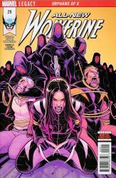 Marvel Comics's All-New Wolverine Issue # 29