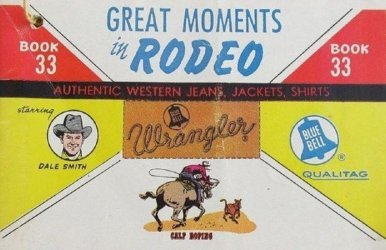 American Comics Group's Wrangler: Great Moments in Rodeo Issue # 33