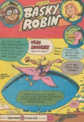 3-D Cosmic Publications's Fun with Basky and Robin Issue # 21