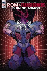 IDW Publishing's ROM vs Transformers: Shining Armor Issue # 4b