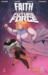 Valiant Entertainment's Faith and The Future Force Issue # 4b